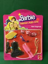 """1978 BARBIE Fashion Add -Ons """"Hair Originals NIC Unpunched"""