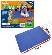 Mascota Perro Gato Cool Mat Auto Gel Refrescante Cojín Estera Colchón de la cama calor alivio de no tóxico
