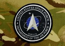 United States Space Force Patch Department Of Defense Hook & Loop Backing