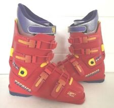 TECNICA Ski Boots RED 27 Mens Size 8.5 Womens 9.5 TCX FIT System flex Control