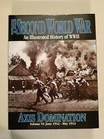 The Second World War/Vol. VI:Axis Domination/June 1942-May 1943/HC/Like New/Nazi