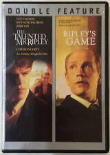 The Talented Mr Ripley & Ripley'S Game Dvd Movie Double Feature 2 Disc Free Ship
