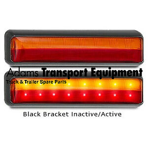 LED Autolamps 1x 201BSTIM Stop/Tail/Indicator Lamp 12/24 Volt - 5 Year Warranty
