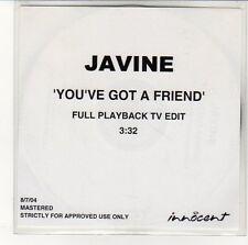 (EN717) Javine, You've Got A Friend - 2004 DJ CD