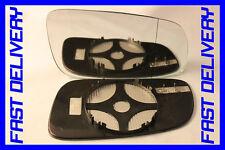 DOOR WING MIRROR GLASS HEATED BLIND SPOT DIRECT  RIGHT SKODA SUPERB 2001-2006
