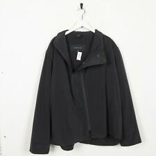 Vintage GUCCI Off Centre Zip Coat Jacket Dark Grey | Large L