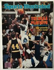 PATRICK EWING March 22, 1982 Sports Illustrated Magazine - NO LABEL