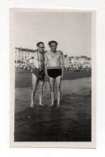 PHOTO - Photographe photographié Appareil Caméra Maillot de bain - Vers 1950