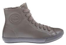 Lacoste Ladies Fairburn Mid 10 Hi Dark Grey Ankle Boots Trainers, UK 4 EU 37