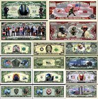 LOT 8 BILLETS de Collection WORLD TRADE CENTER DOLLAR US ! 11 SEPTEMBRE 9/11 WTC