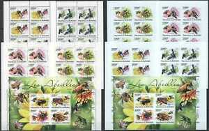 M0982 IMPERF,PERF 2011 BURUNDI FAUNA HONEY BEES INSECTS !!! 10KB MNH