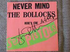 Johnny Rotten SIGNED AUTHENTIC 100% Sex Pistols Bollocks CD