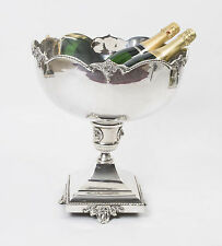 Gorgeous Silver Plated Champagne Cooler Punch Bowl