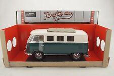 1:18 Road Signature 1962 VOLKSWAGEN VW Bus MICROBUS grün+Sliding Sunroof Neu/OVP
