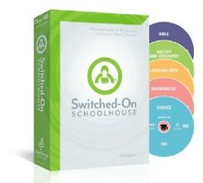 2016 Switched-On Schoolhouse Grade 10 Complete 5 Subject Homeschool Software NEW