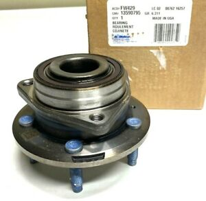New OEM GM Chevy Cruze Wheel Bearing & Hub Front/Rear ACDelco FW429