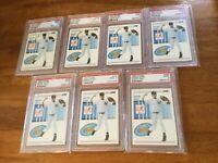1993 Score #489 Derek Jeter Yankees RC Rookie HOF PSA 9 MINT Lot of 7