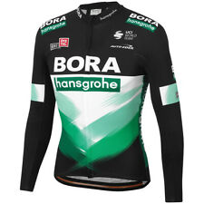 Mens team Thermal Fleece mens cycling jersey long sleeve cycling wear Winter Fit
