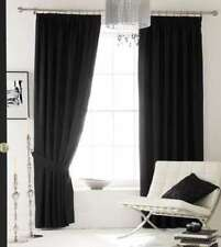 Catherine Lansfield Faux Silk Contemporary Curtains & Blinds