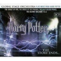 HARRY POTTER - THE STORY ENDS... 3 CD SOUNDTRACK FILMMUSIK NEW!