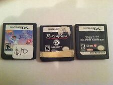 Nintendo DS games Prince of Persia, Dora and the Snow Princess, Fantastic 4 KID