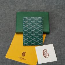 Maison Goyard Wallet Green Long Fashion Wallet