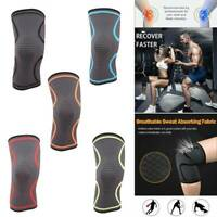 X Knee Brace Sleeve Compression For Sport Joint Pain Arthritis Support Relief