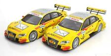 1:18 Norev Audi double set with 2 A4 DTM #9 Rockenfeller/Kristensen