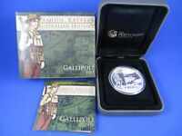 2011 FAMOUS BATTLES IN AUSTRALIAN HISTORY $1 1oz.- GALLIPOLI 1915*