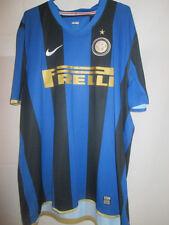 Inter Milan 2008-2009 Home Football Shirt Size Extra Extra Large /19583