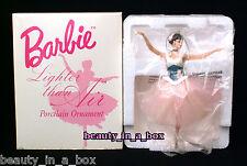 Lighter Than Air Ballerina Porcelain Barbie ORNAMENT Ballet Degas Based on Doll