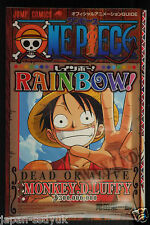 """JAPAN One Piece Official Animation Guide """"Rainbow"""""""