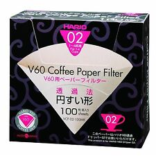 Hario Box of Peper Coffee Filters 02 VCF-02-100MK from Japan New Free Shipping