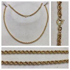 Kordelkette 333er Gold Kette Collier Gelbgoldkette Goldschmuck 50,0 cm
