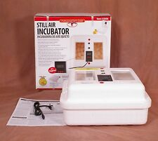 Little Giant Still Air Egg Incubator 9300 - Digital Thermostat & Humidity Gauge