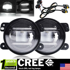 """Pair 4""""INCH 30W DRL LED FOG LIGHT Driving Lamp FOR 2011 2012 Jeep Grand Cherokee"""