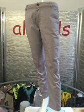 Comma Hose Jeans Braun Gr 34 Straight Leg Cotton Stretch 1A Zustand