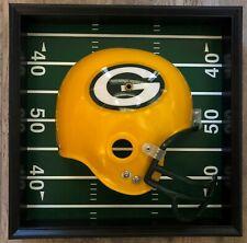 Vintage NFL Green Bay Packers Helmet Wall Plaque