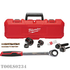 49 16 2702 Exact 1 38 Sink Plumbers Knockout Set With Case Milwaukee