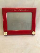 "Vintage 1960s Red Original 505 Ohio Art ""Magic Etch A Sketch"""