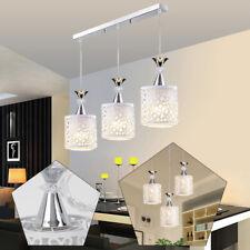 Modern LED 3Head Petal Chandelier Ceiling Light Pendant Lamp Fixture Dining Room