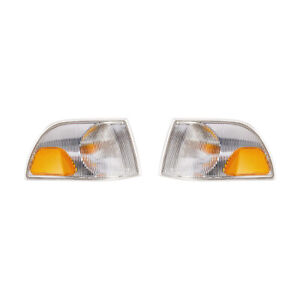 NEW PAIR OF TURN SIGNAL LIGHTS FITS VOLVO C70 1998-2002 9483184-9 94831856