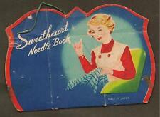 Vintage - Sweetheart Needle Book