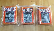 Baseball Wheaties Box Lot Yankees Giants Cereal Willie Mays Babe Ruth Lou Gehrig