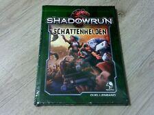 Shadowrun 5. Edition Schattenhelden Quellenband HC Pegasus Press 2018 Neu OVP
