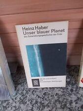 Unser blauer Planet, von Heinz Haber, aus dem rororo Verlag