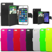 Flip Wallet Leather Case Cover Book Pouch For Apple IPhone 4 4S 5 5S 5C
