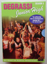 Degrassi Junior High Season 3 (DVD, 2005, 3-Disc Set) WGBH Public TV Series NEW