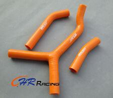 FOR KTM 250SX 2003 2004 2005 2006 03 04 05 06 silicone RADIATOR HOSE orange