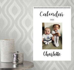 A5 Personalised Calendar Photographs Gift Christmas Present 2022 - N20